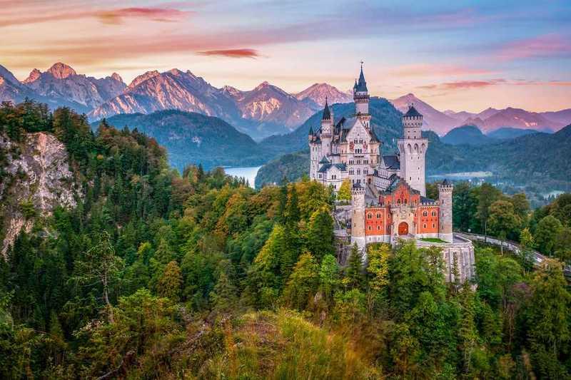 """Результат пошуку зображень за запитом """"neuschwanstein castle castles munich"""""""